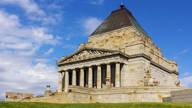 Melbourne Shrine of Remembrance by Crisco 1492