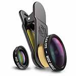 Black Eye Smartphone Objektiv Set (160°, Macro 15X)
