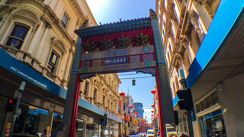 China Town in Melbourne by Daniel Kovacs
