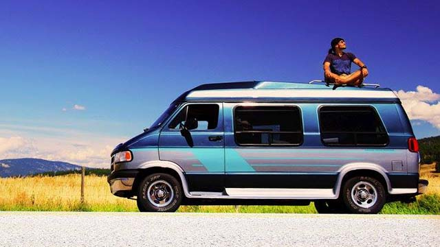 "2. Camper Van ""Betty"" (Dodge B2500)"