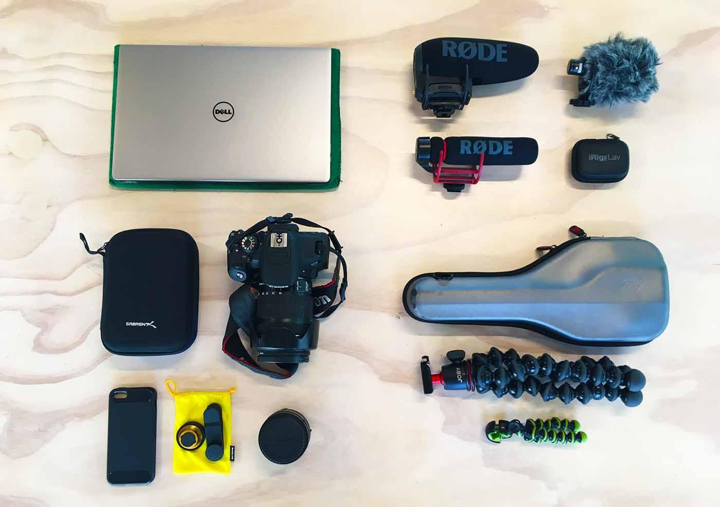Travel Camera Gear - Daniel Kovacs