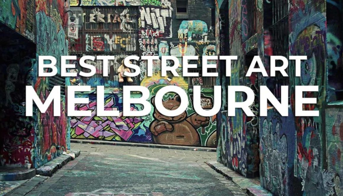 Where is the best street art in Melbourne?