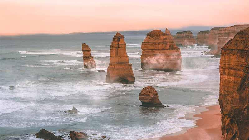 Krankenversicherung in Australien und die 12 Apostel