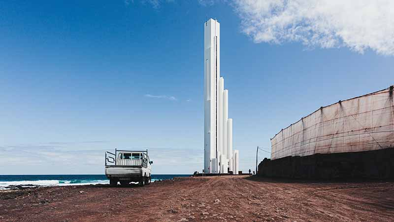 Punta de Hidalgo Leuchtturm - Faro de Punta del Hidalgo