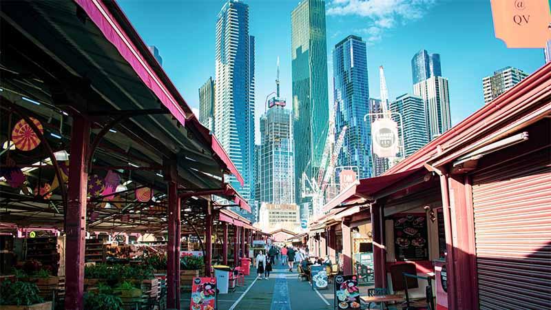 Work and Travel Kankenschutz fuer Melbourne