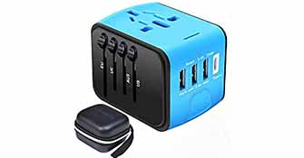 Working Holiday Blog Resources - Power adapter