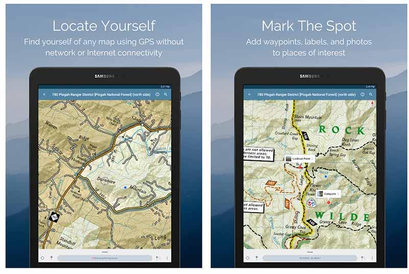 Avenza Maps ist eine hervorragende Kartenapp für deine nächste Outdooraktivität