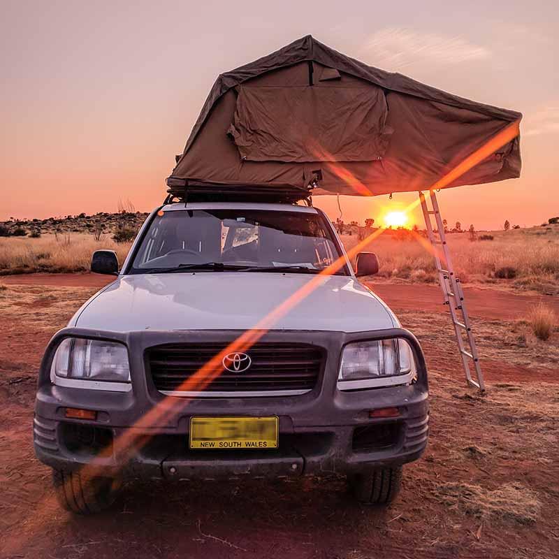 Mit unseren Apps ist Camping in Australien ganz einfach