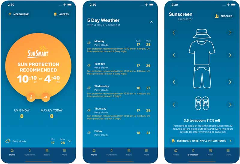 SunSmart helps you protect yourself