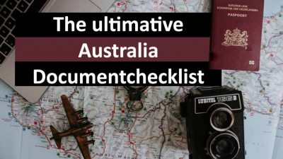 The ultimative australia document checklist