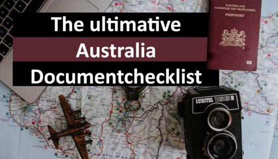 The ultimative australia document checklist