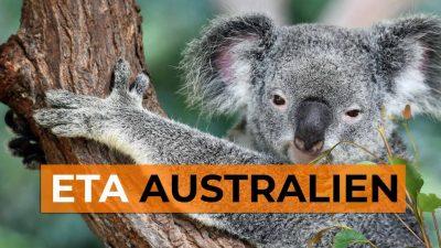 Electronic Travel Authority - ETA Australien