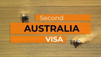 Second Working Holiday Australia Visa