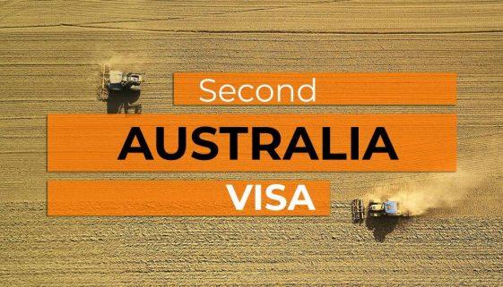 Second Working Holiday Australia Visa