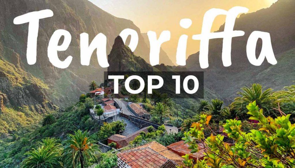 TOP 10 Sehenswürdigkeiten in Teneriffa Spanien - Cover