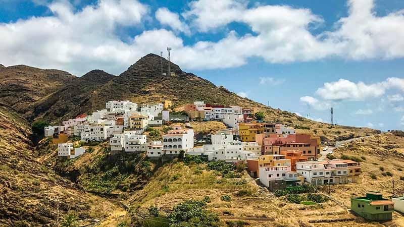 Taganana Santa Cruz de Tenerife auf Teneriffa in Spanien