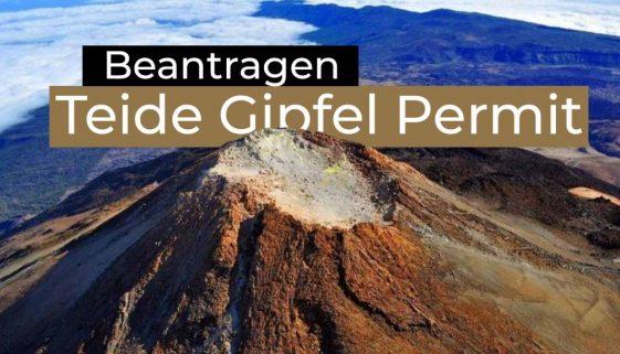 Teide Gipfel Genehmigung beantragen - DE