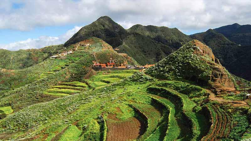 Tenerife chinamada to Punta del Hidalgo Trail