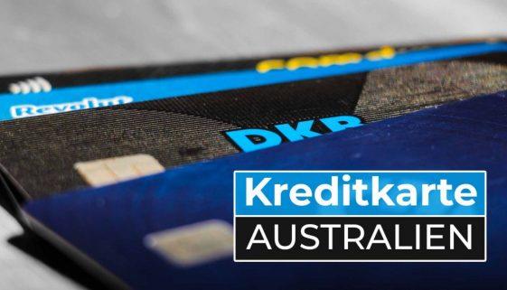Work and Travel Australien Kreditkarte - Cover