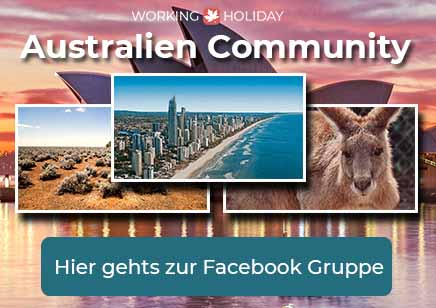 Working Holiday Australien Facebook Gruppe - Community - DE