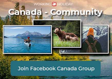 Working Holiday Canada Facebook Group - Community - EN