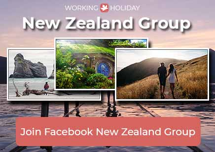 Working Holiday New Zealand Facebook Group - Community - EN