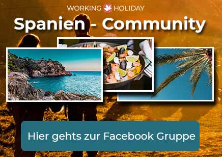 Working Holiday Spanien Facebook Gruppe - Community - DE