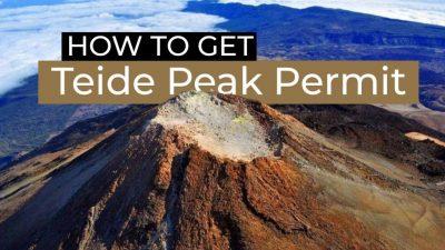 how to apply for Teide Peak permit - EN