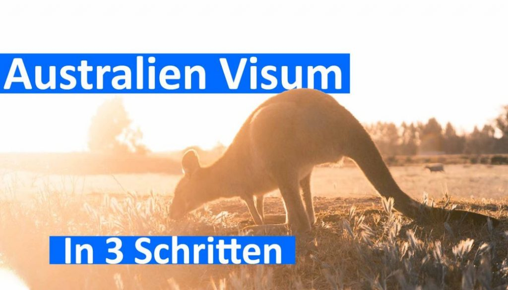 Working Holiday Visum Australien selbst beantragen