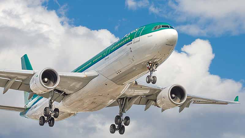 Take a plane to Ireland