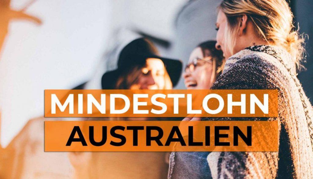 Wie hoch ist der Mindestlohn in Australien - Cover