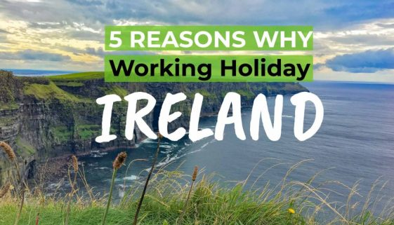 5 Reasons Why to do a Working Holiday in IRELAND - Cover