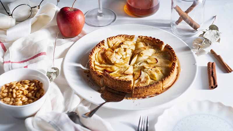 Apple pies are on specialty in Ireland