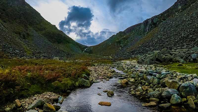 Landschaft beim Work and Travel in Irland