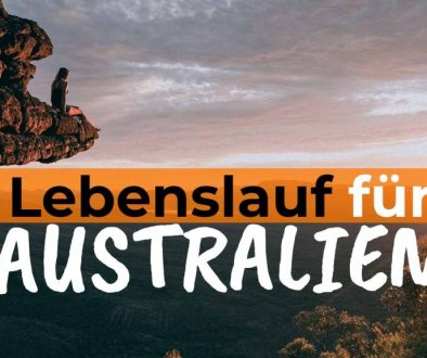 Wissenswertes zu deinem Lebenslauf für Australien - Cover