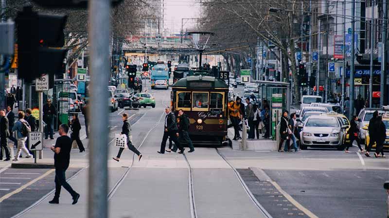 gewoehn dich bei jetlag an die neue stadt - Melbourne Australien
