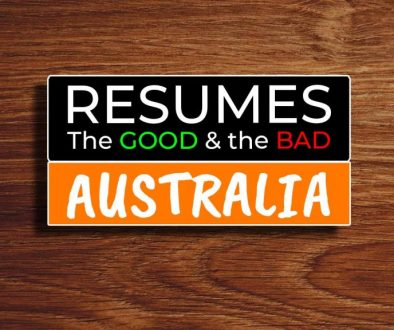 Australia Resume the good and the bad - COVER2