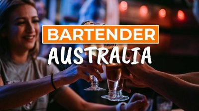 How to get a Job as a Bartender in Australia - Cover