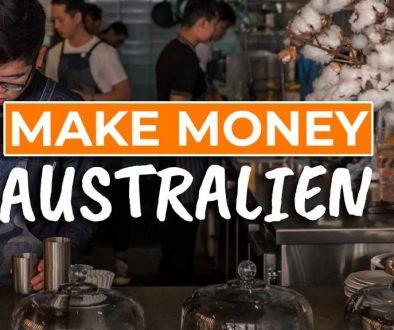 Verdiene viel Geld in Australien als Backpacker - Cover