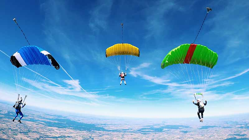 Looking for an exotic job and are experienced in skydiving