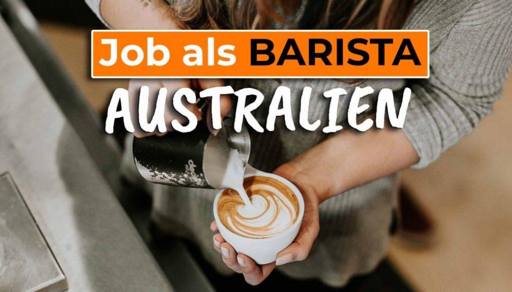 Erfahrungsbericht als Barista in Australien