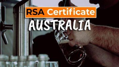 RSA Certificate in Australia - Cover