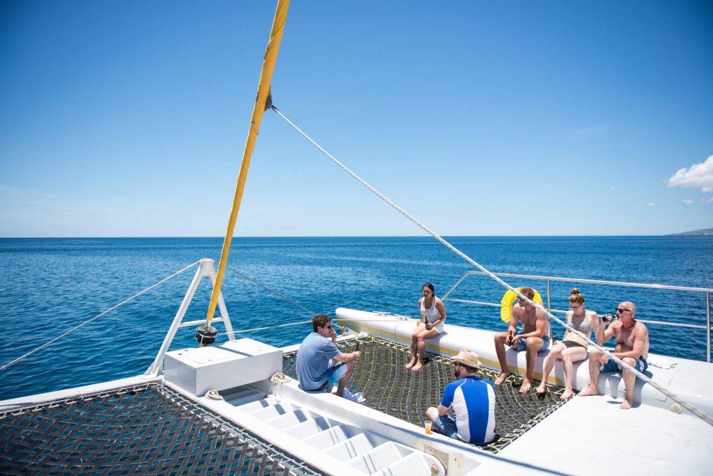 Whitsudays boat tour Australien