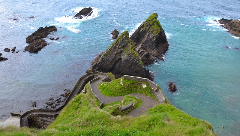 Dunquin Harbour on Dingle Ireland