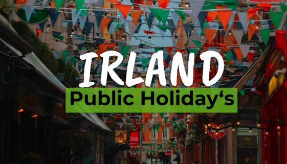 Bigest 5 Public Holidays in Ireland - Cover