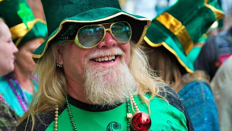 Feiertag in Irland - St Patricks Day Paraden