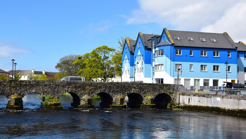 Sligo city northwest Ireland