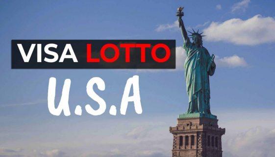 USA VISA LOTTO - Cover